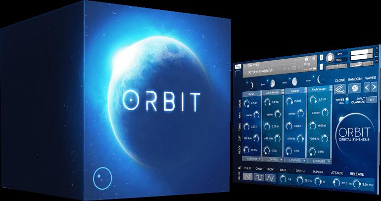 Wide Blue Sound: Cutting-Edge VST, AU, AAX Synth Instruments - image orbit on https://www.widebluesound.com